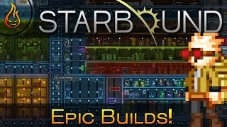 Epic Starbound Builds: Elysia