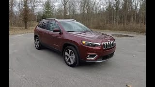 2019 Jeep Cherokee Limited 4X4|Walk Around Video|In Depth Review