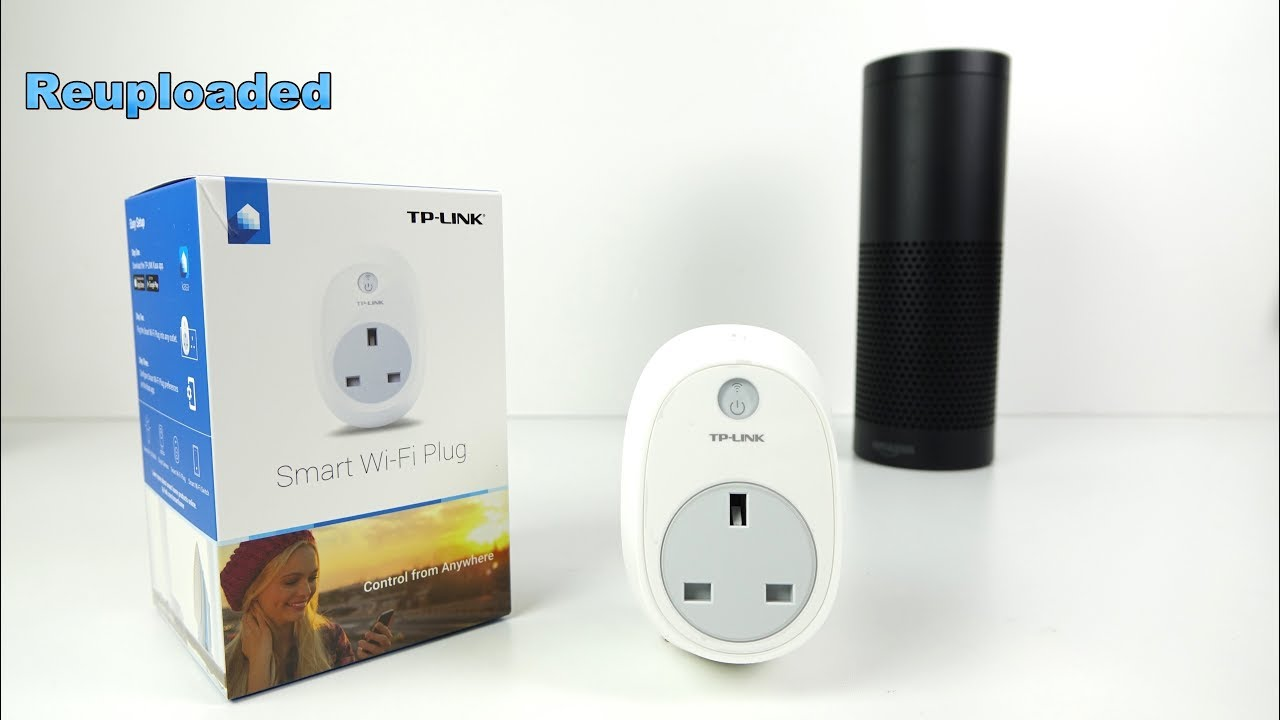 Simple ECHO Voice Control SMART PLUG from TP-Link - YouTube