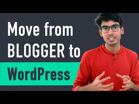 How to Move from Blogger to WordPress - 동영상