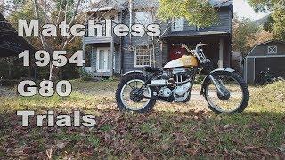 Matchless 1954 G80 Trials 500cc single big thumper