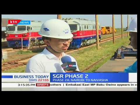 Prefabrication of T-beams and rail sleepers for the 2nd phase of SGR commences