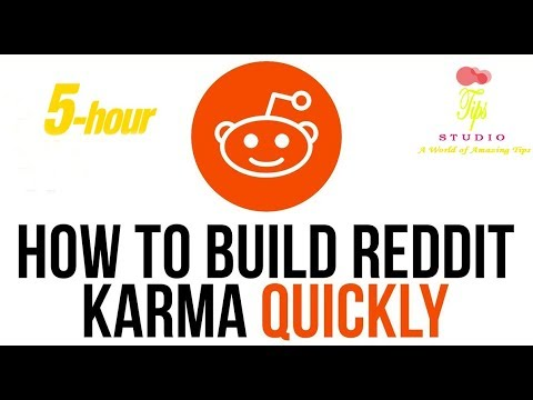 How to get more Reddit Karma quickly