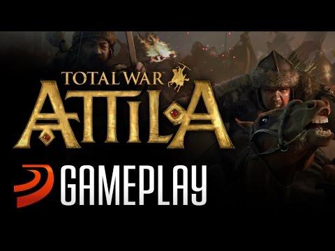 """Gameplay Comentado De """"Total War: Attila"""""""