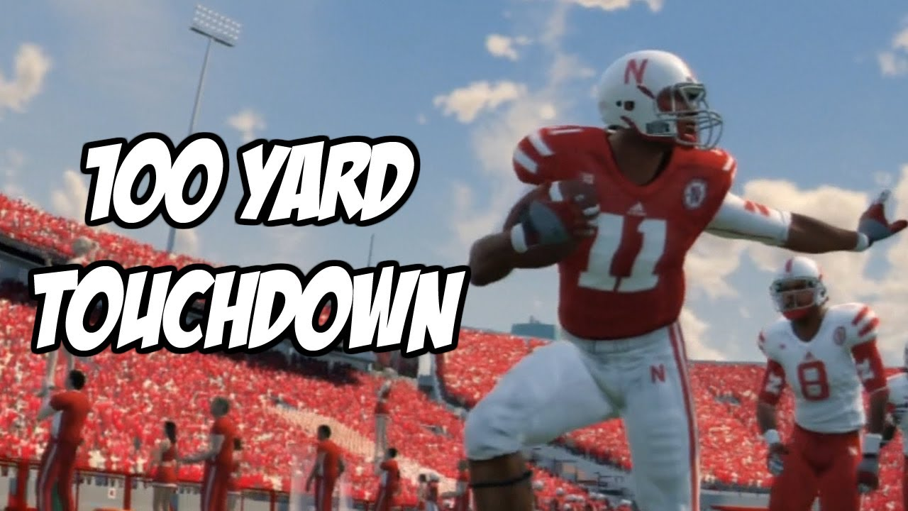 100 YARD TOUCHDOWN! - NCAA FOOTBALL 14 - NEBRASKA ...
