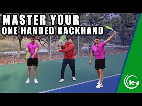 how-to-master-the-one-handed-backhand:-tennis-lesson