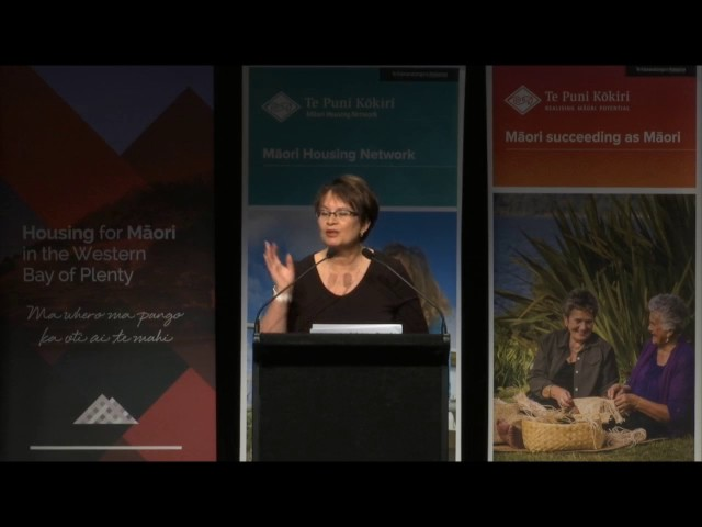 Tauranga National Māori Housing Conference 2016 - Key Note Di Grennell, Int Speaker Jenny Samms