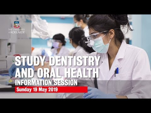 Discover Your Future In Health At Adelaide | Dentistry And Oral Health