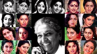 Tribute To S Janaki | Heroines Of 6 Decades