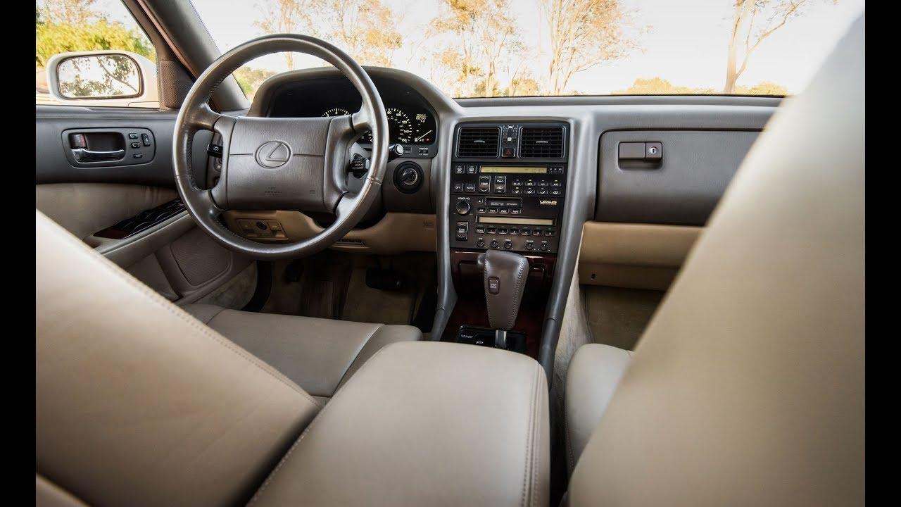 Lexus Luxury Interior >> Luxury Cars - the Original 1990 Lexus LS400 - Exterior Interior - YouTube