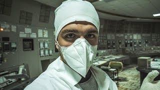 Entro en la CENTRAL NUCLEAR de Chernobyl