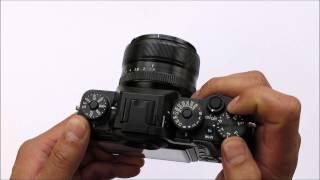 Fujifilm X-T1 (also fits X-T2) Thumb Grip Black by Lensmate