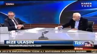 Fatih Altaylı:  Ben Salak Mıyım? Levent Kırca: Evet Salaksın TEKE TEK