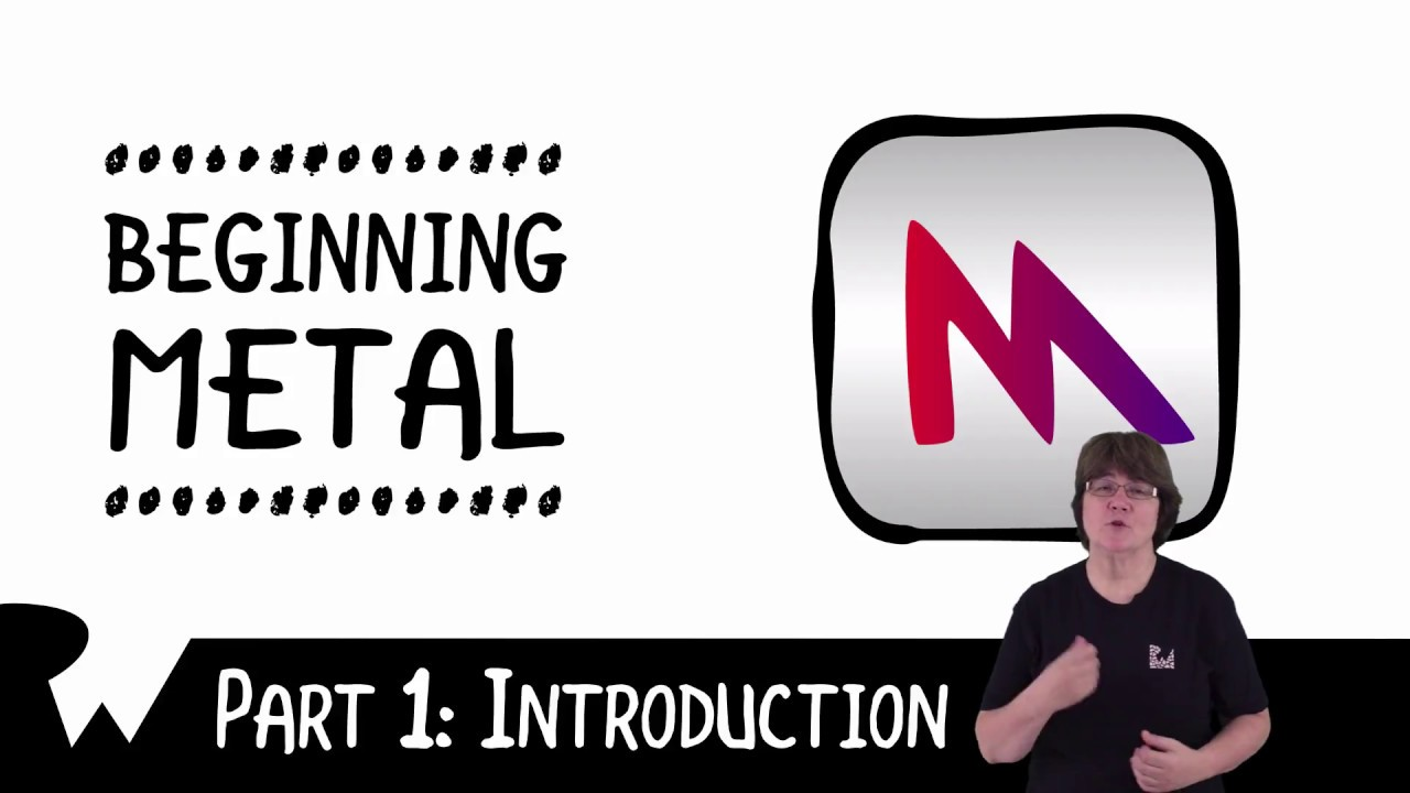 Learning Metal for iOS from the Ground Up - raywenderlich com - YouTube