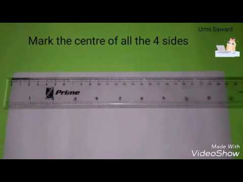How to make Napkin Fold Card| Handmade| Diy| by Urmi Sawant