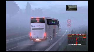 Euro Truck Simulator 2 - TSM 4.0 With Bus Real Expresso Full HD