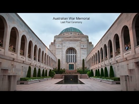 Last Post Ceremony - Remembrance Day 11 November 2016