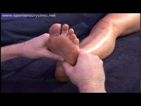 Sports Massage Techniques for treating