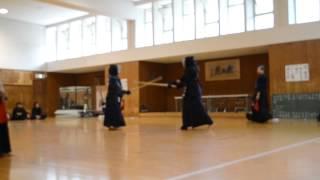 Kendo Panamá: Shiai de Rosemarie en Kyoto University 2014