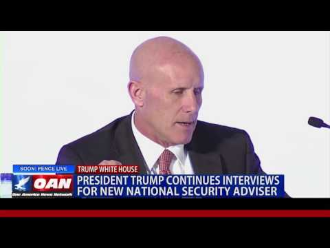 President Trump Continues Interviews for National Security Adviser