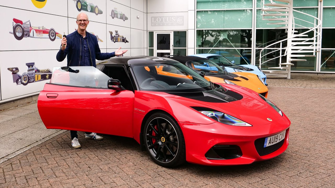 Collecting A Lotus Evora GT410 Sport! [And Driving To Monaco]