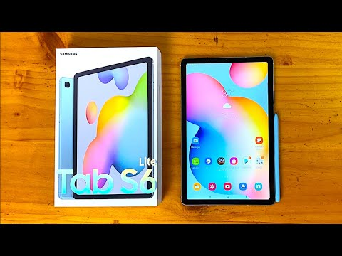 Samsung Galaxy Tab S6 Lite Unboxing & First Impressions!