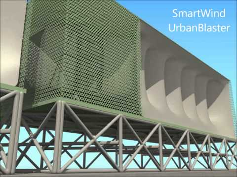 SmartWind UrbanBlaster: The Future In Urban Wind Energy
