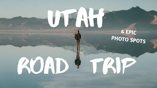 CAMPER VAN ROAD TŔIP and BEST photo spots in UTAH