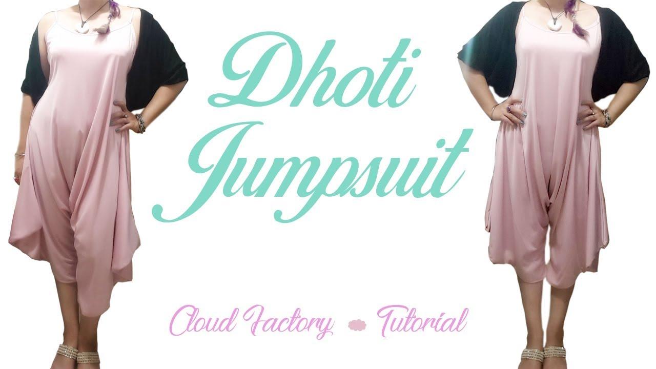 3b6ebd27fc6ba Harem Jumpsuit (Dhoti style) Tutorial ~ Cloud Factory - YouTube