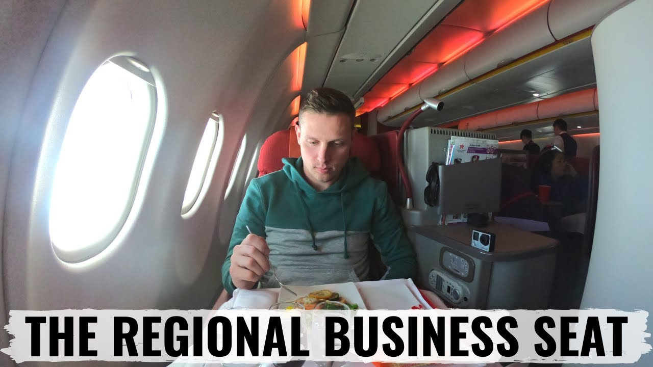 Hong kong airlines airbus a330 business class review youtube - Delta airlines hong kong office ...