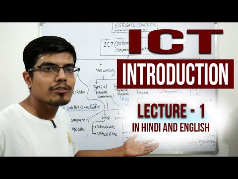 Lecture 1 | ICT (Information & Communication Technology) | UPSC ESE 19 GS Paper | CE, ME, EE and ECE