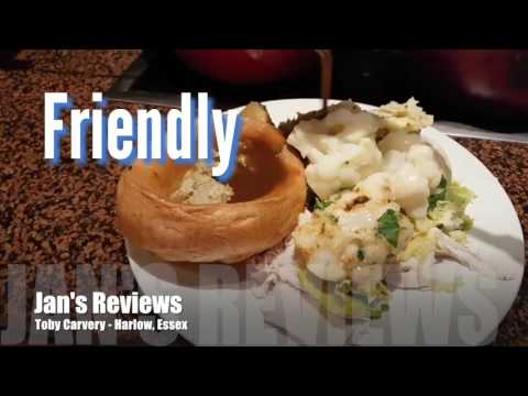 Jan's Reviews, TOBY CARVERY, HARLOW, ESSEX, RESTAURANT REVIEW