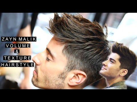 Zayn Malik Hairstyle | Celebrity Hair For Men | High Volume & Short Texture Haircut