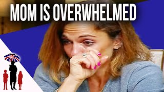 Mom Overwhelmed By Frustrated 6Yr Old & Disabled Daughter | Supernanny