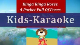 Karaoke | Ringa Ringa Roses | Sing Along Songs With Lyrics