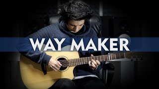 Way Maker - SINACH - Fingerstyle Guitar Cover by Albert Gyorfi [+TABS]