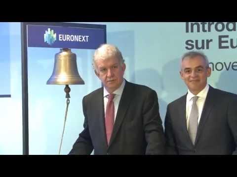 Cérémonie d'ouverture d'Euronext Paris - Lancement de la Cotation d'Amundi
