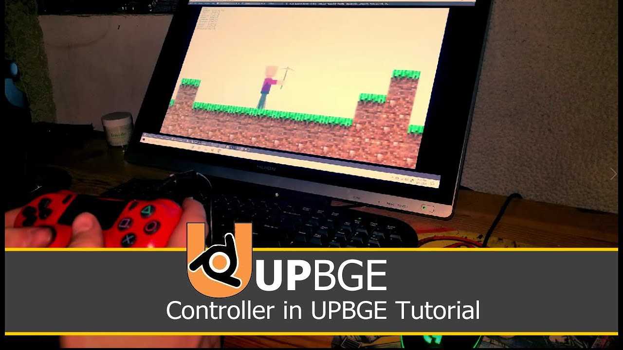 Using PS4 Controller Tutorial | UPBGE