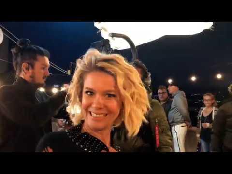 Penti Reklam Filmi Backstage   Burcu Biricik