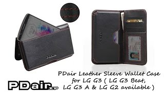 PDair Handmade Leather Sleeve …