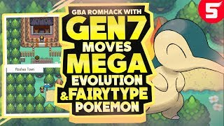 Pokemon GBA Rom Hack With Mega Evolution, Fairy Type & Moves from Gen 7 (2018)