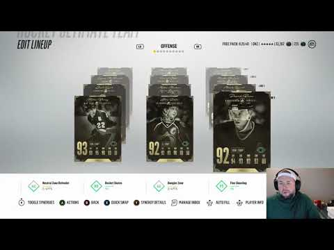 NHL 18 HUT BONUS content!!!! ALL legend squad!!