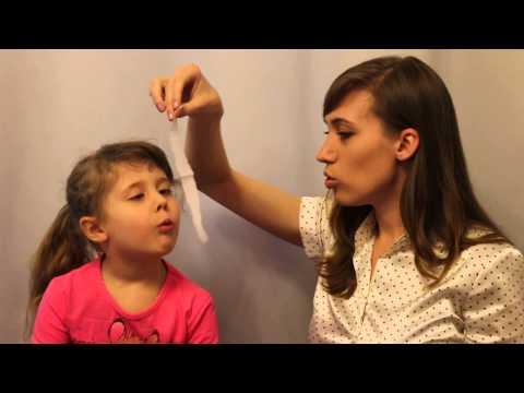 Дыхательная гимнастика. Показ упражнений с ребенком. Логопедия