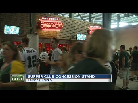 Travel Wisconsin Supper Club opens at Lambeau Field