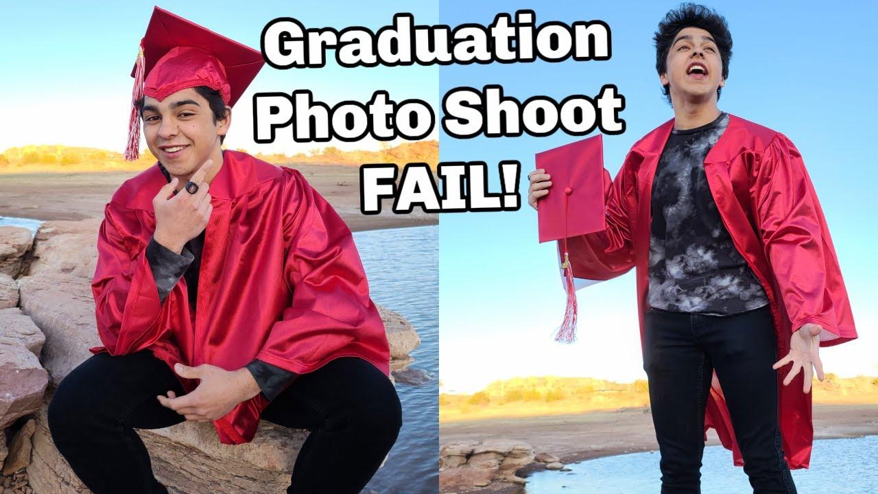 Graduation Photos   FAIL!