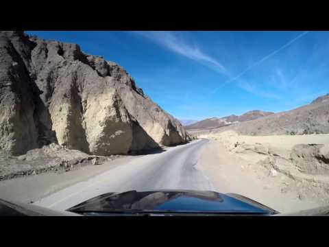 Death Valley Artist's Drive mid day