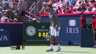 Too Close To Call? Hawkeye Review Rogers Cup Final 2015