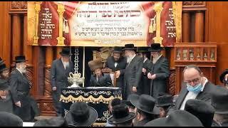 Reb Michel Zlotchover's Nigun @ Tchilas Sefer Torah In Sadigura - 29 Nissan 5781