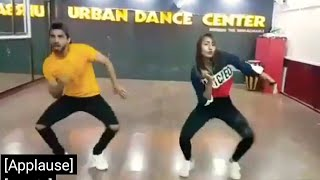 Guri's song Billian Billian Akhan dance by Sahaj & Shreoshi || Urban Dance Center ||