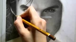Ian Somerhalder draw by Ellen Sunbeam-Elena2687